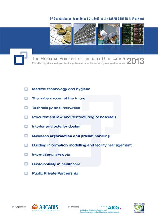 3. Fachkongress Klinikimmobilie