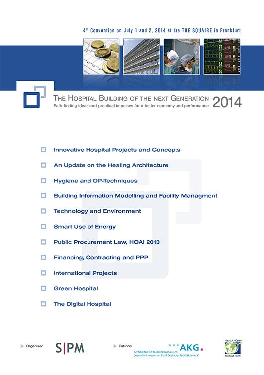 4. Fachkongress Klinikimmobilie