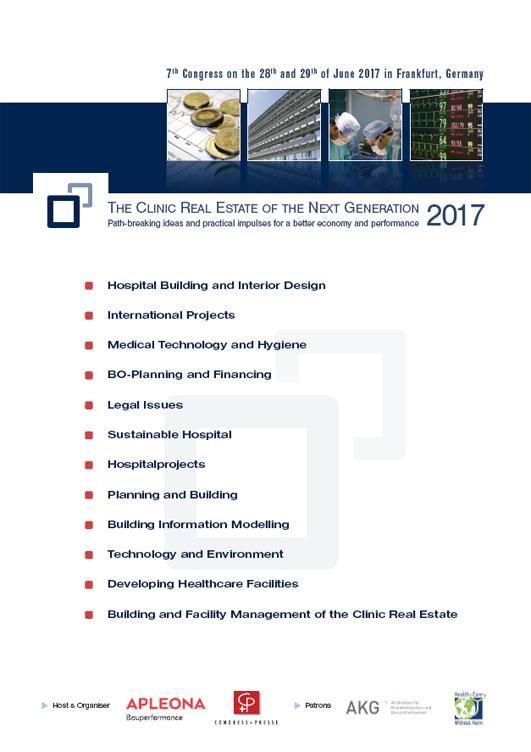 7. Fachkongress Klinikimmobilie