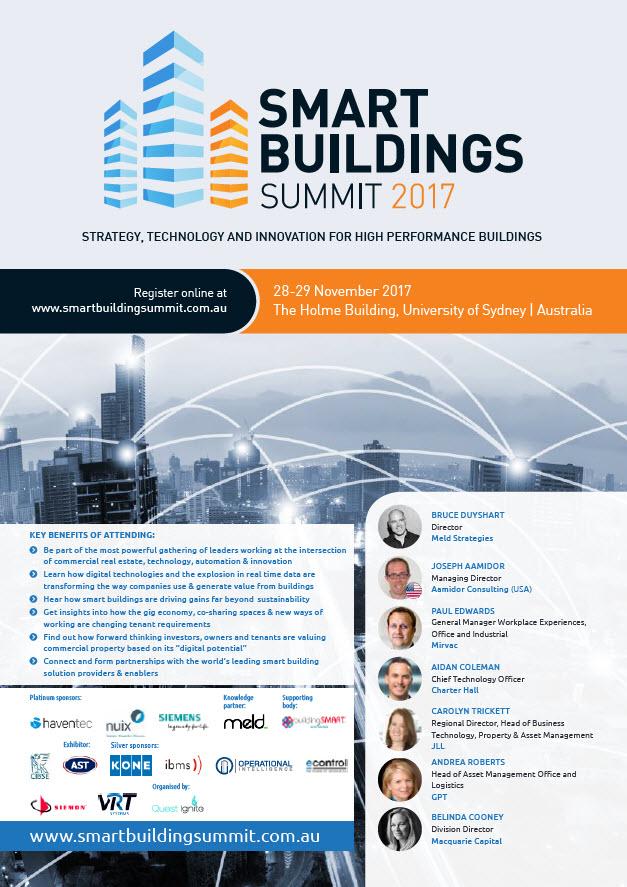 2nd Smart Buildings Summit 2017
