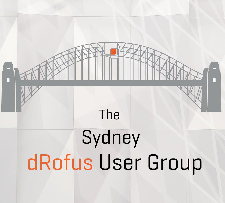 Sydney dRofus User Group