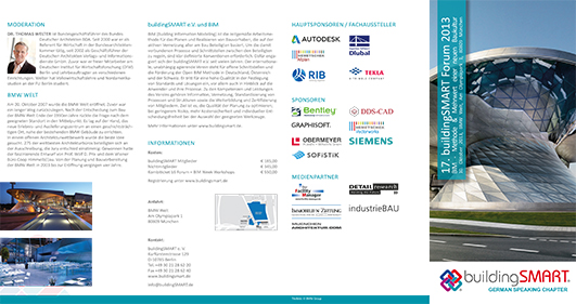 International BuildingSMART BIM Forum 2013