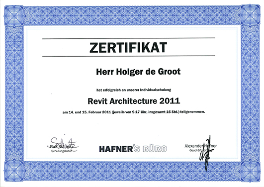 Individualschulung Revit Architecture 2011