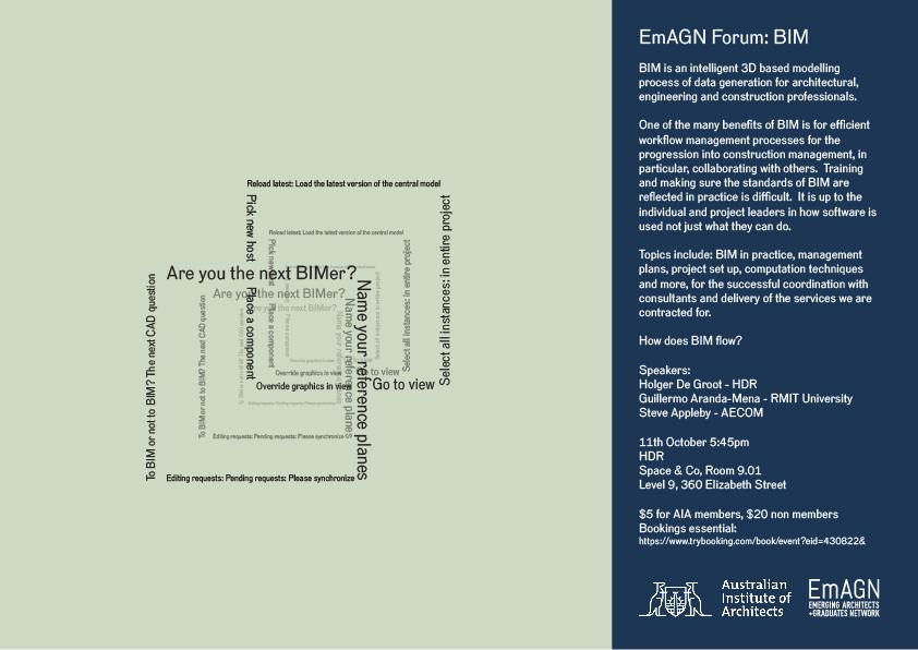EmAGN Forum: BIM